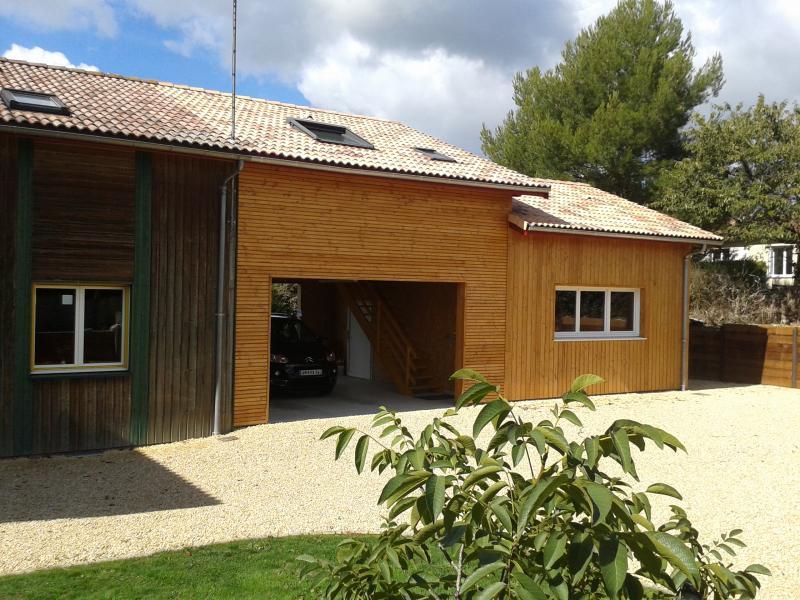 Extensions charpente g cardineau deux s vres 79 et for Extension maison 79